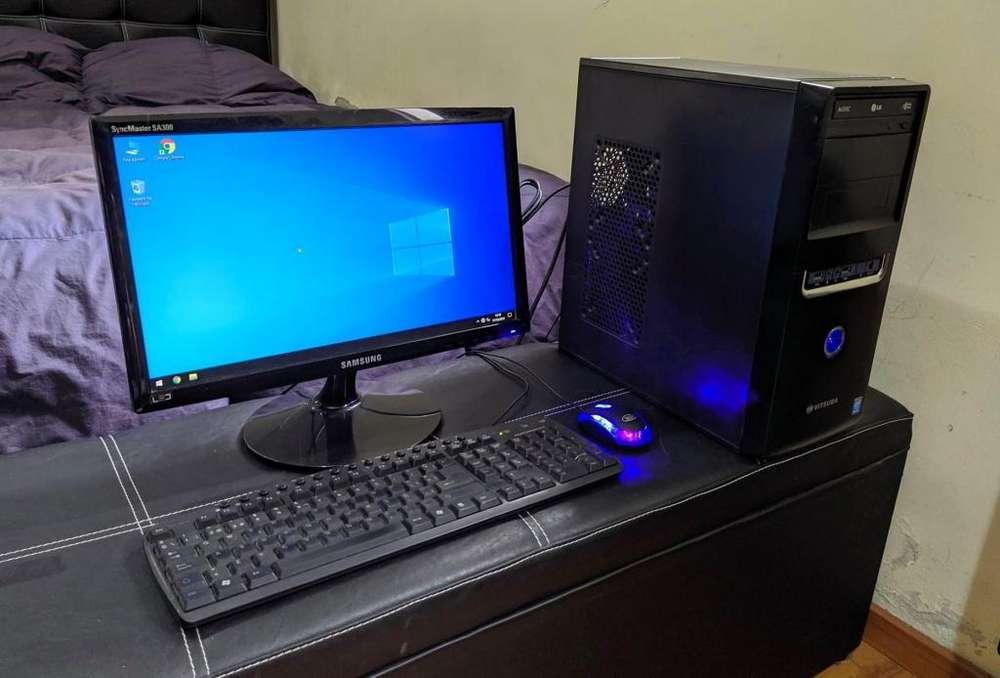 VENDO PC COMPLETA 8GB RAM WIFI