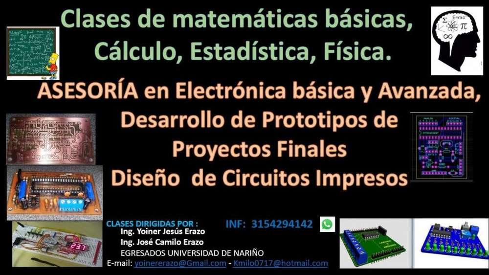 ASESORÍA FÍSICA Y MATEMÁTICAS ELECTRÓNICA
