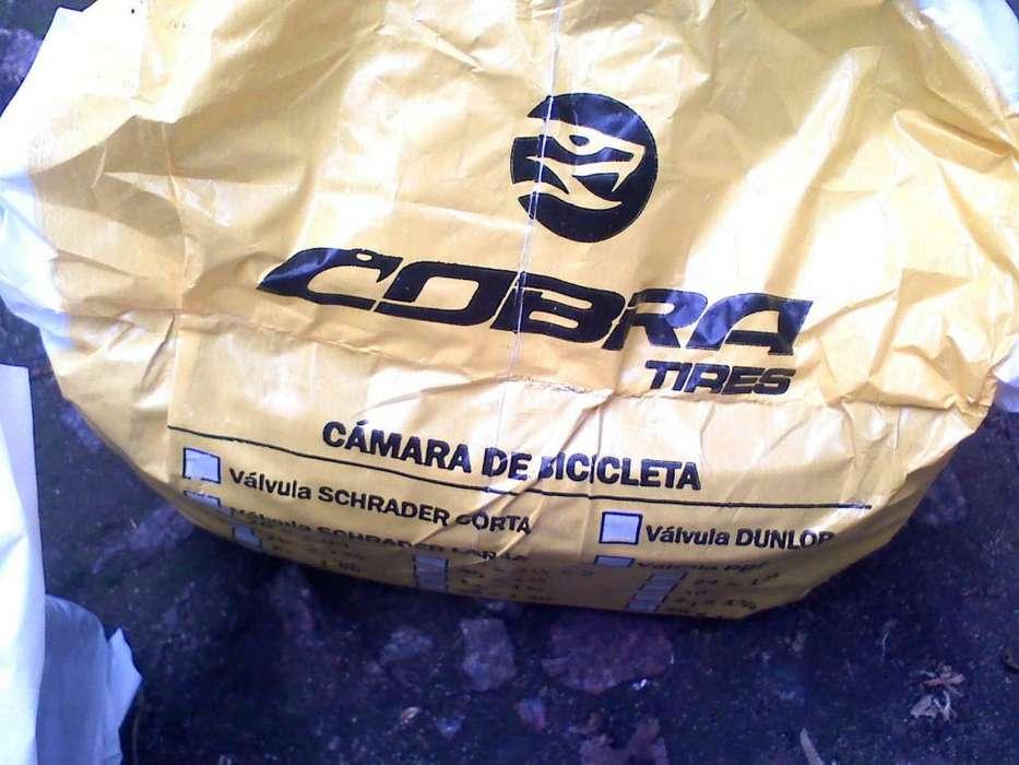CAMARAS BICICLETA NUEVAS RODADO 26