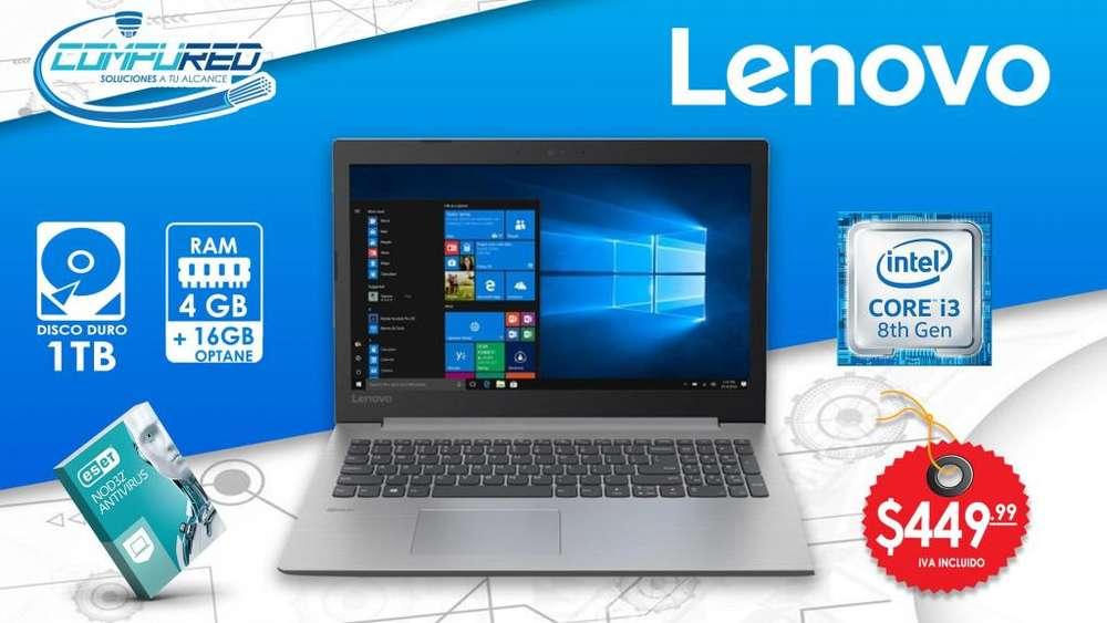 Notebook Lenovo Ideapap 330 81DE00L8US 15.6