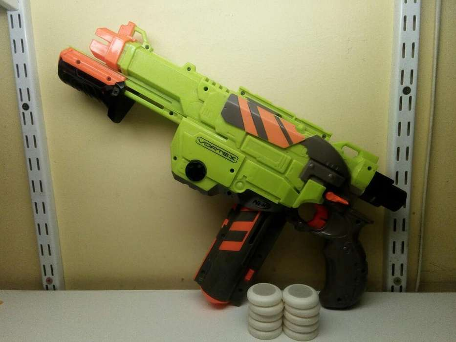 Pistola Nerf Vortex Lumitron