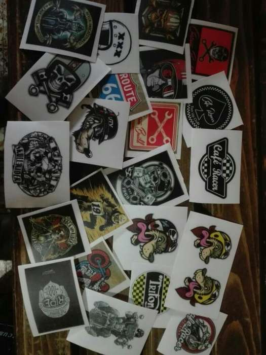 Stickers Cafe Racer, Custom