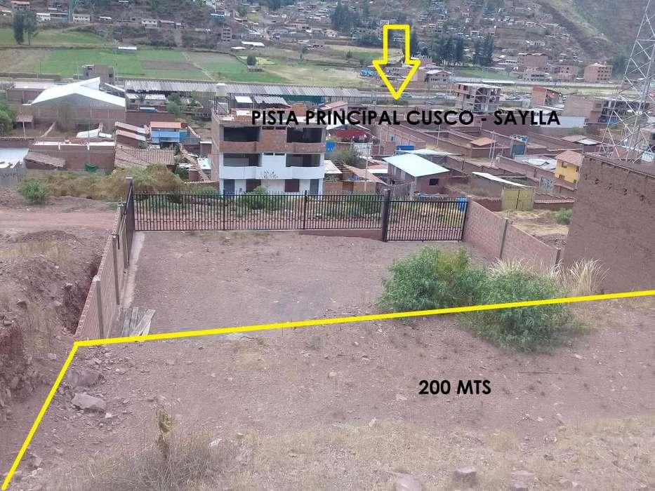 VENDO TERRENO DE 200 MT2 EN EL DISTRITO DE SAYLLA