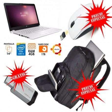 HP 14 CORE I3 RATON MORRAL TARGUS Y MEMORIA USB 128GB