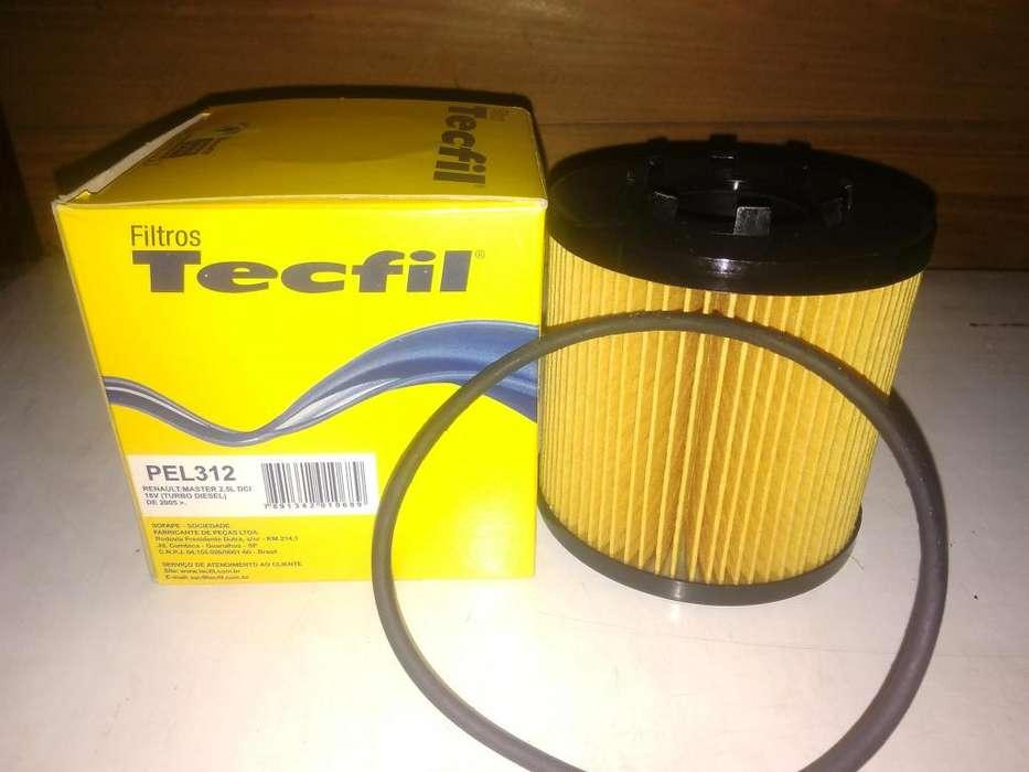 Filtro De Aceite Tecfil Pel312 mann Hu923/x Para R Master