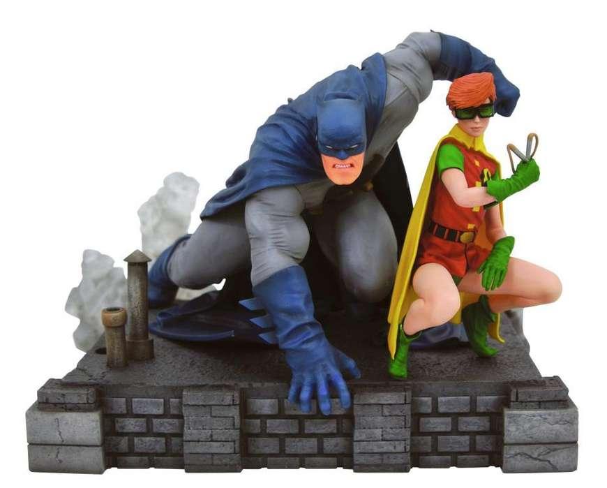 Estatua Dc Gallery Batman & Robin (carrie Kelly) Deluxe