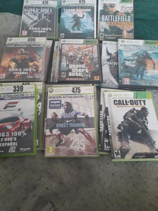 20 Juegos Xbox 360