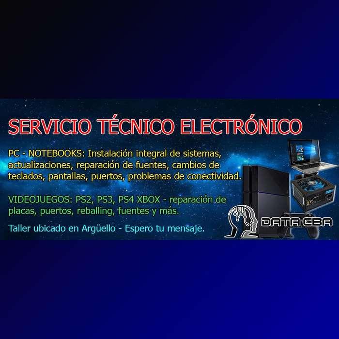 REPARACIÓN PC NOTEBOOKS PLAYSTATION XBOX