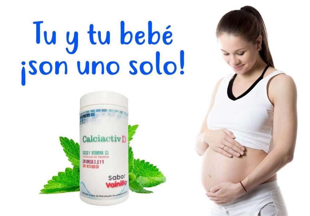 El mejor suplemento para ty y tu bebé Calciactiv D