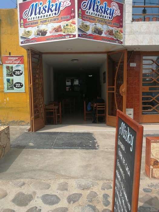 Traspaso de Restaurante, Local 600 Soles