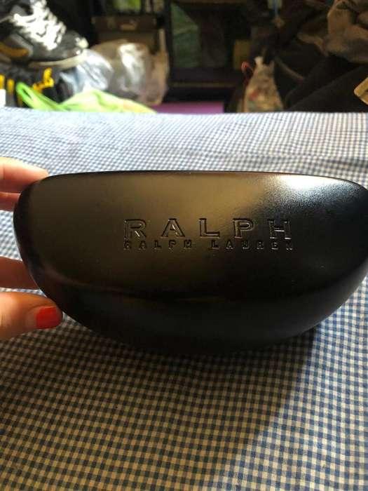Estuche anteojos de sol grande Ralph Lauren, Nuevo, Traído de USA.