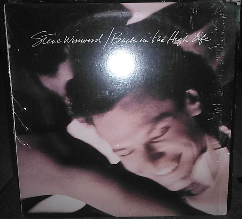 Steve Windwood Back In The High Life Lp Vinilo Importado Made In Usa