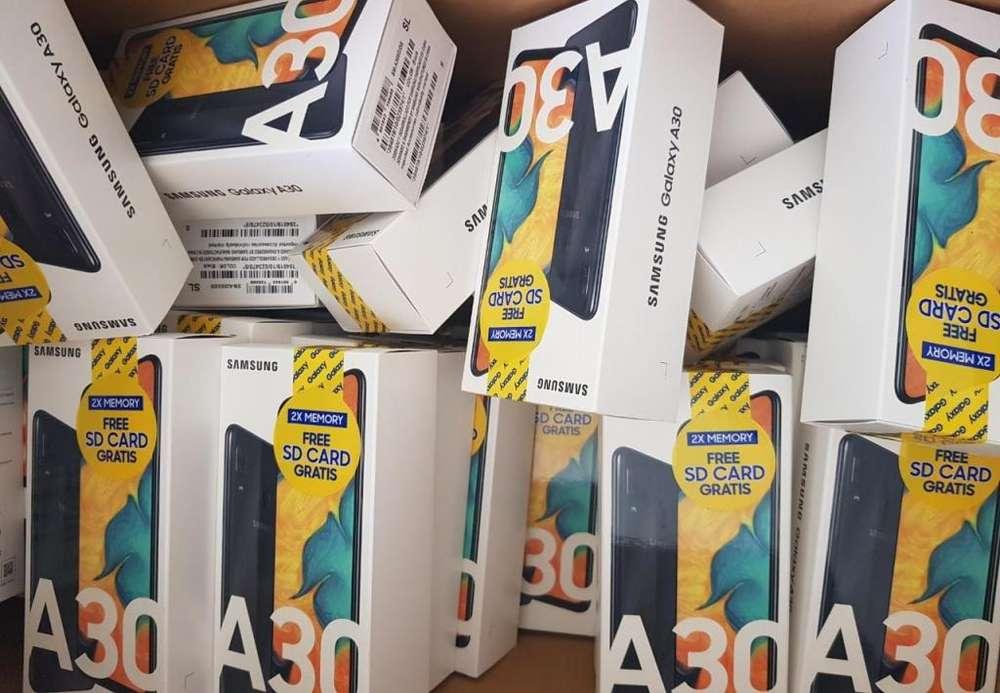 Samsung Galaxy A30 de 32GB Y 64GB, 90 días de garantía, local comercial