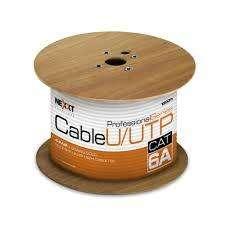 Cable U/UTP Cat6A - Gris-Nexxt