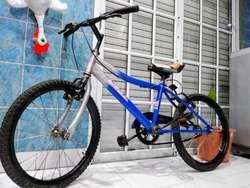 Bicicleta Bmx Rodado 20 Milano Andando