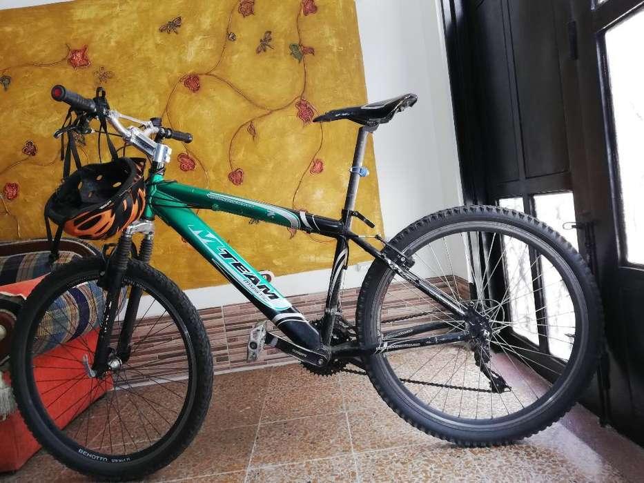 Bicicleta Milan Mystic Team