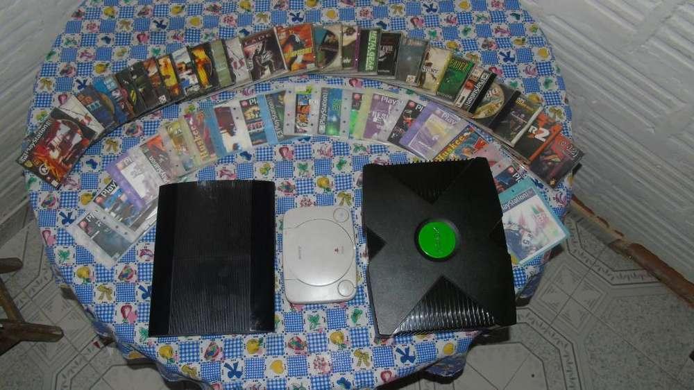 Vendo Play 1, Xbox Y Play 3 Ultra Slim