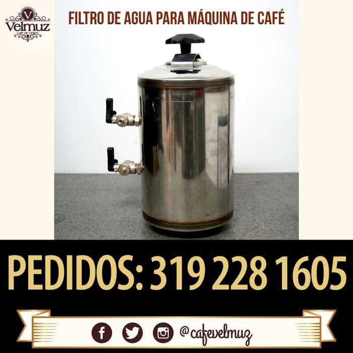Filtro DVA ablandador de agua para cafeteras Express