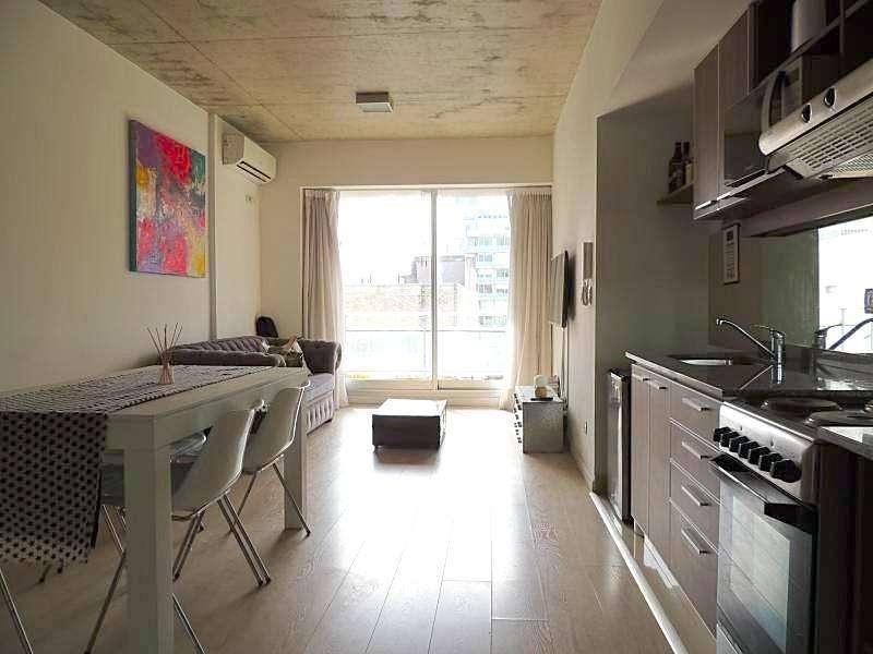 Departamento de dos ambientes con cochera alquiler temporario Palermo