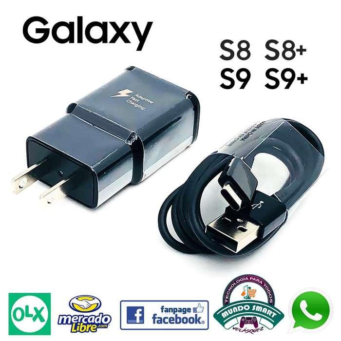 Cargador Carga Rapida Galaxy Usb Tipo C S8 S8 S9 S9