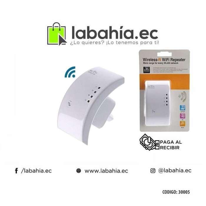 Repetidor Amplificador de señal Wifi