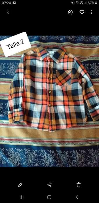Camisa Niño Talla 2