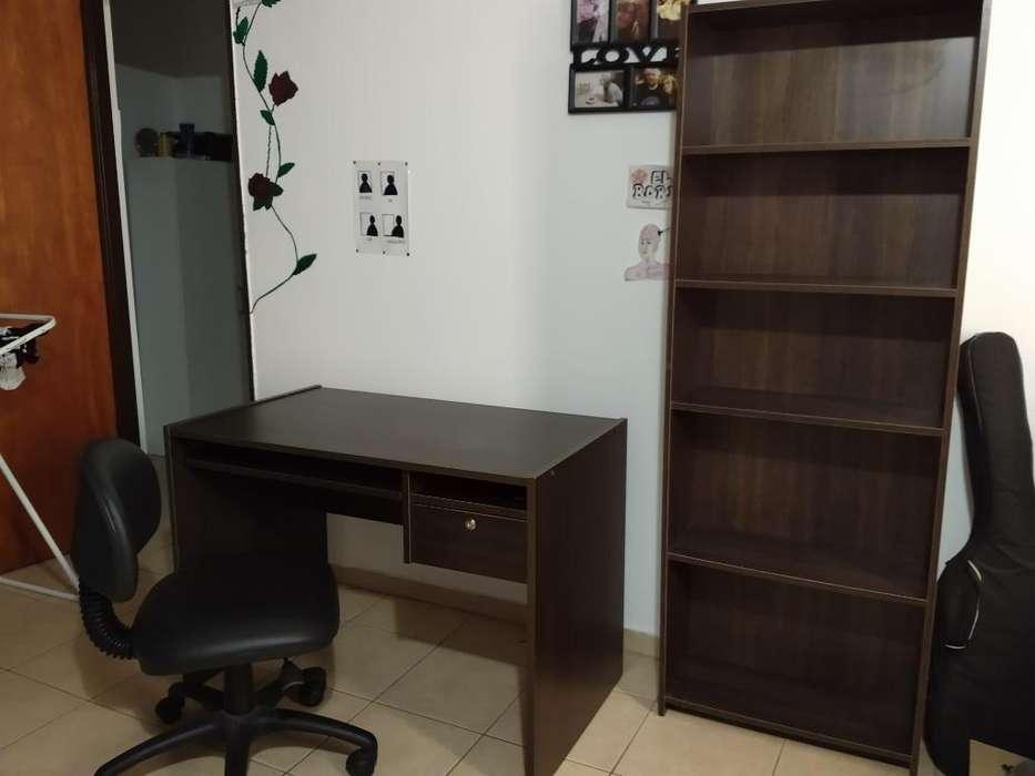 Vendo Biblioteca Y <strong>escritorio</strong> con Silla