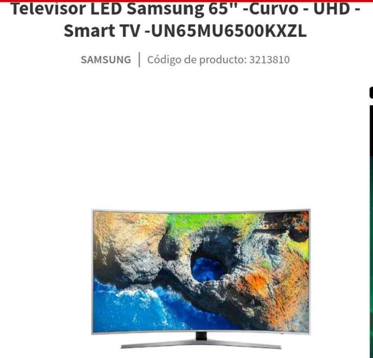 <strong>televisor</strong> Samsung Curvo de 65 Nuevo