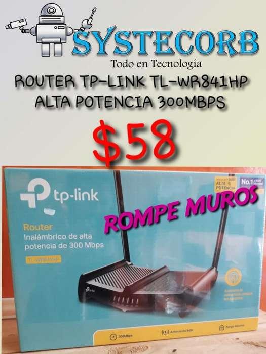 Router Tp-link Tl-wr841hp Alta Potencia