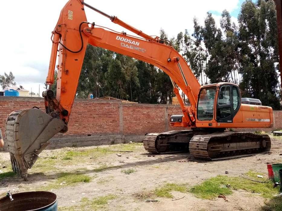 Alquilo, vendo o cambio excavadora Doosan dx 340 lc