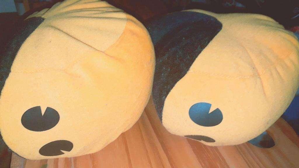 Peluche Pac Man X2.