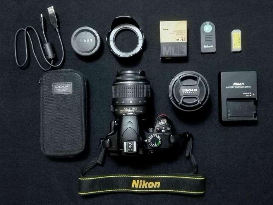 Nikon D3200 / 18-55 / 50mm