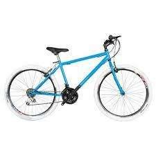 Bicicleta Mtb Urbana R 26 18 Camb Victory negro,azul verde