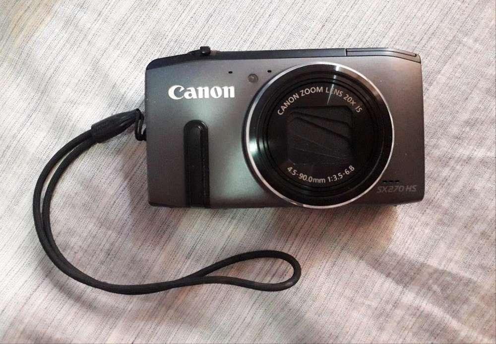 Cámara Dígital Canon Powershot Sx270 Hs