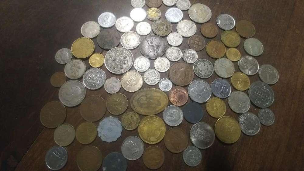 Monedas Antiguas, Monedas Extranjeras