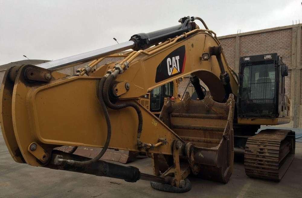 Excavadora Caterpillar 336D2L del 2014 con Motor C9 Acert