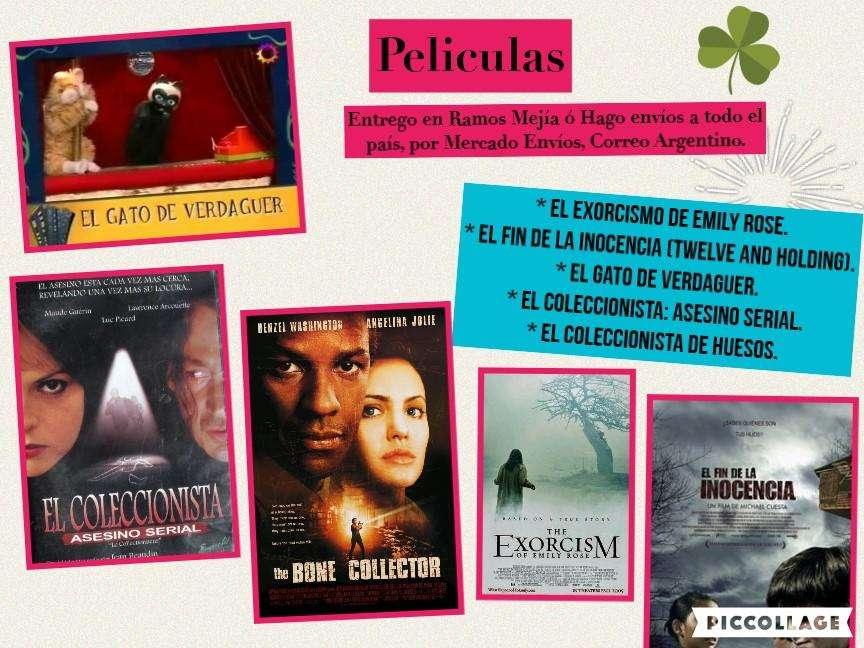 Lote de 43 Películas en Dvd a 8 c/u - Ramos Mejía. 344