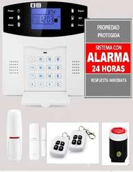 ALARMA GSM SEGURIDAD INALAMBRICA PARA CASA TALLER NEGOCIO