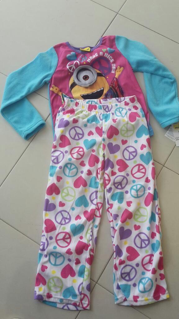 Pijama Minions Talla8