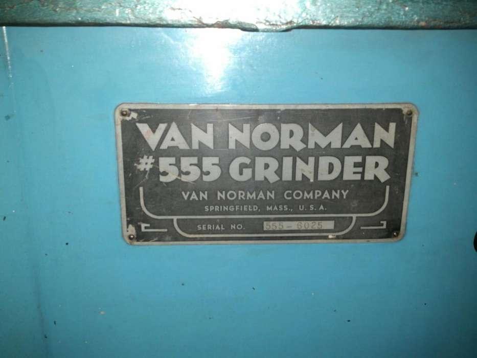 Cepilladora de superficies Van Norman 555 Grinder