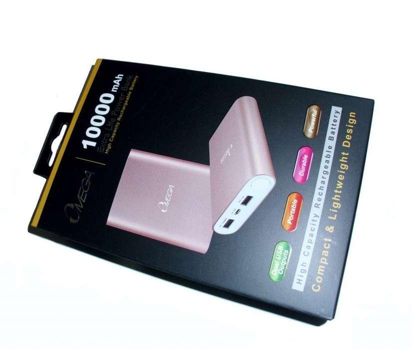 Bateria Externa Power Bank Omega Dorado 10000mah precio segun cantidad