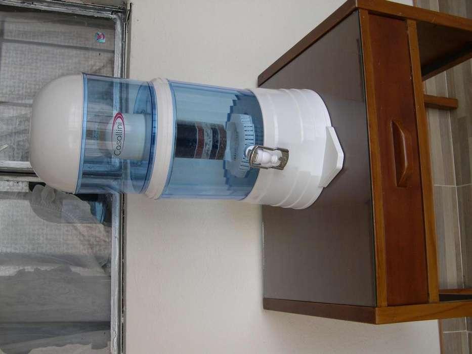 Excelente filtro de agua, usado muy poco