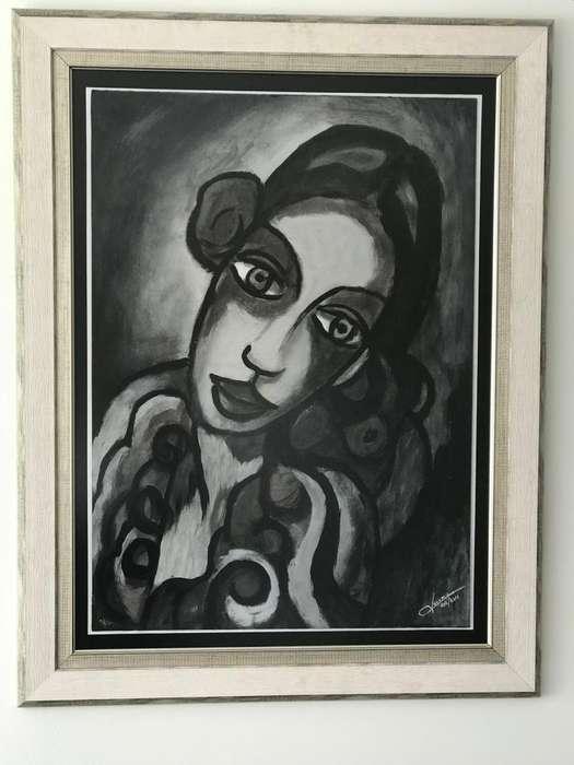 Cuadro en ole Arte <strong>pintura</strong> y marco