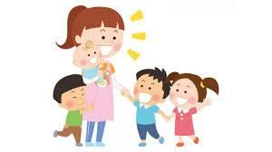 Se cuidan niños