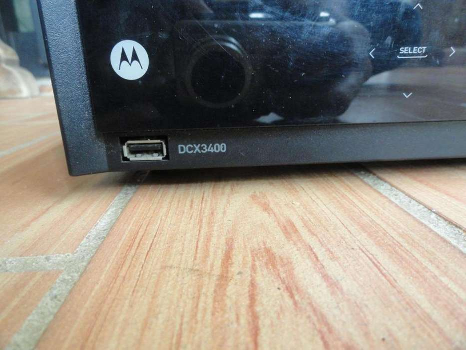 Motorola HD DVR, the DCX3400