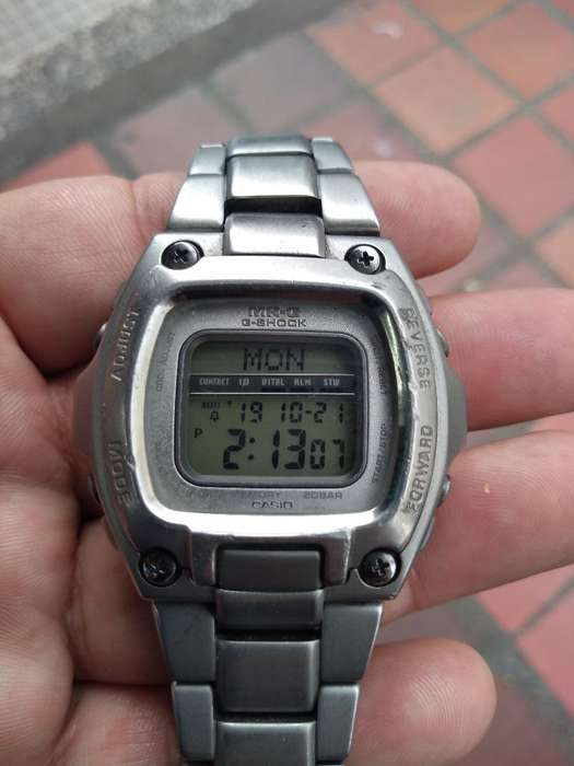 Casio Mrg 210t Titanium