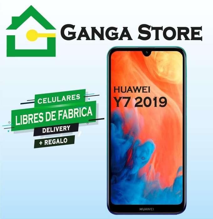 Huawei Y7 2019 Tienda Libre de Fabrica