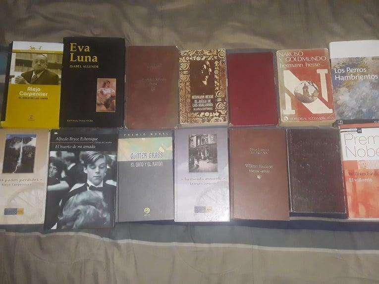 libros y novelas en buen estado
