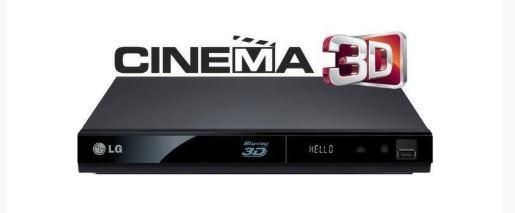 Reproductor 3D Blu-ray /DVD con streaming