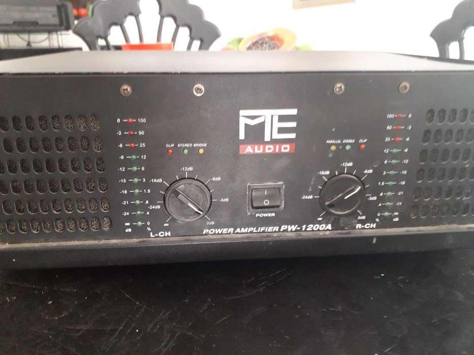 Amplificador Original Mte 1200a 8 Transi